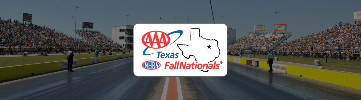 NHRA Texas Fall Nationals