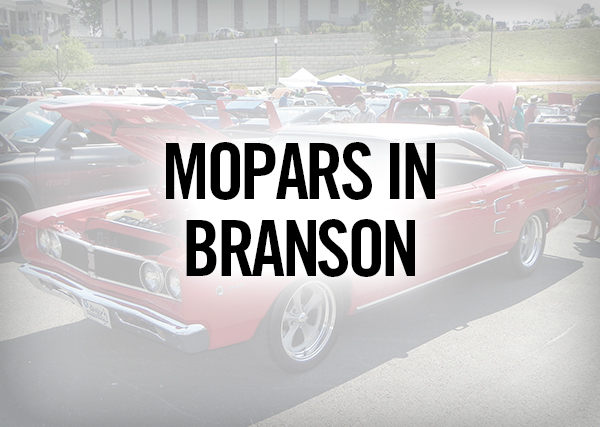 Mopars in Branson
