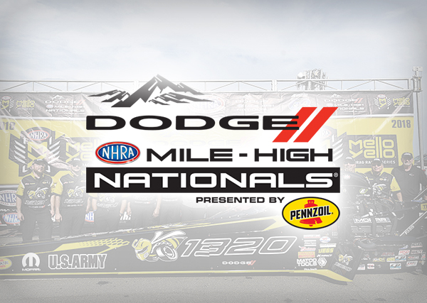 NHRA Dodge Mile-High Nationals