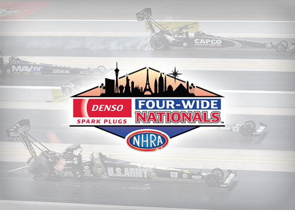 NHRA Four-Wide Nationals Vegas