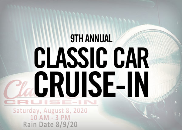 9th Annual Classic Car Cruise-In