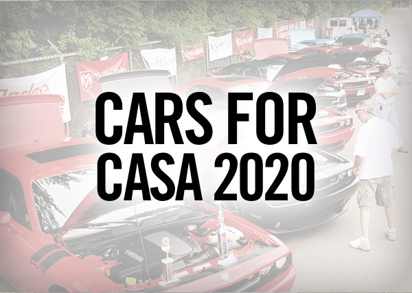 Cars for CASA 2020