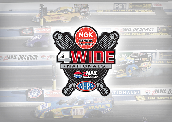 NHRA Four-Wide Nationals North Carolina