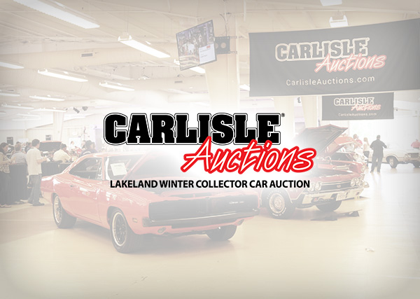 Carlisle Auctions Lakeland Winter Collection Car Auction