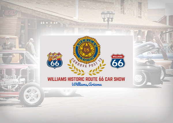 6th Annual Williams Historic Route 66 Car, Truck & Motorcycle Show