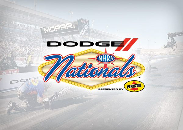 Dodge NHRA Nationals Presented by Pennzoil