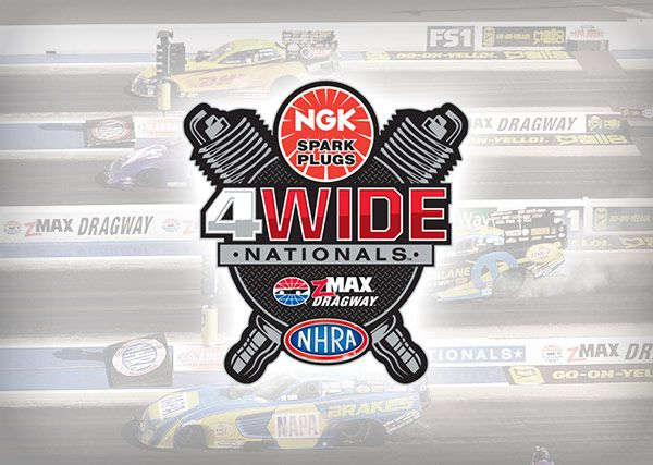 NHRA Four-Wide Nationals Charlotte