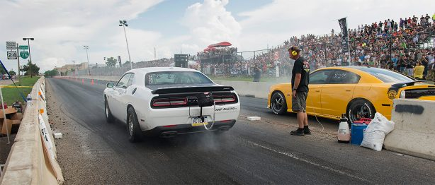 Dodge Draws Tens of Thousands to the First-ever Legal Street Drag Racing on Woodward Avenue with Roadkill Nights Car Festival
