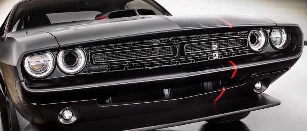 Black Dodge Challenger