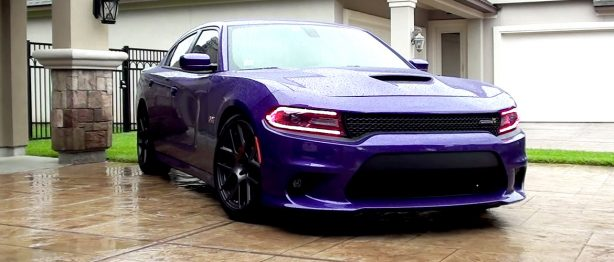 Dodge Charger Purple SRT