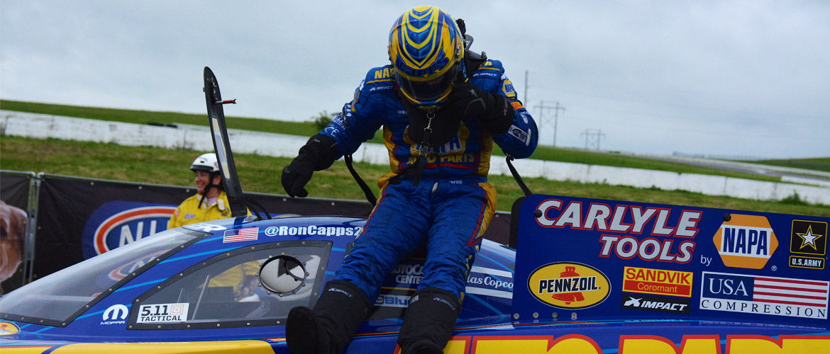 Ron Capps Fourth Win