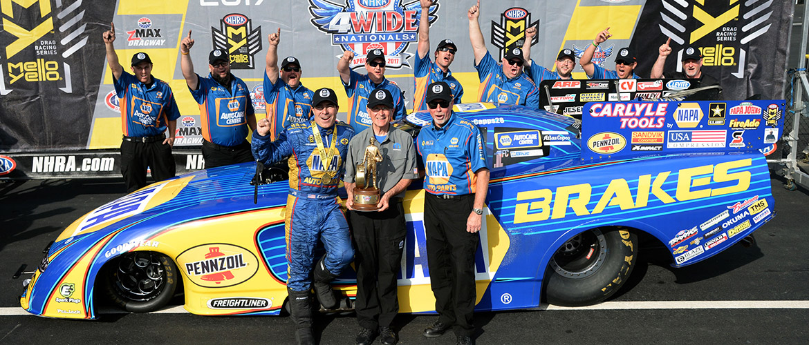 Ron Capps Wins Four Wide Nationals