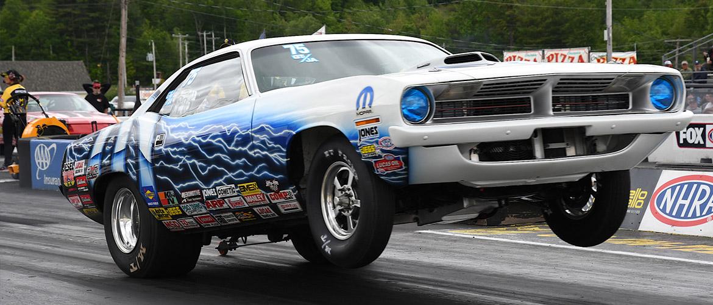 New England race 70 'cuda