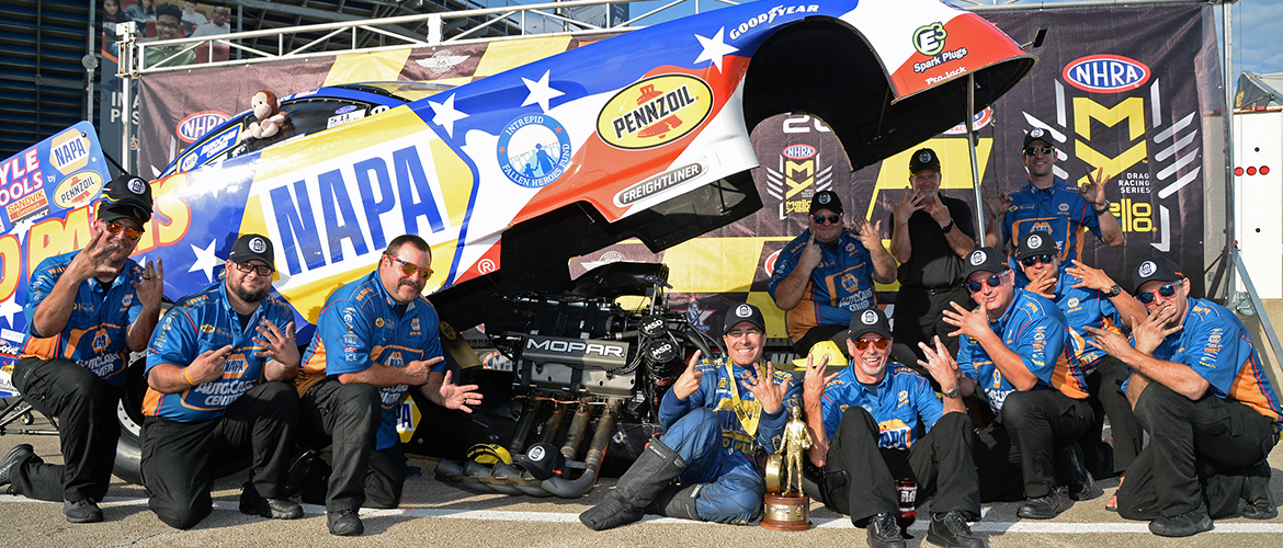 Route 66 Nationals Ron Capps