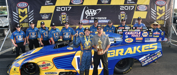 Napa team after win at Midwest racing