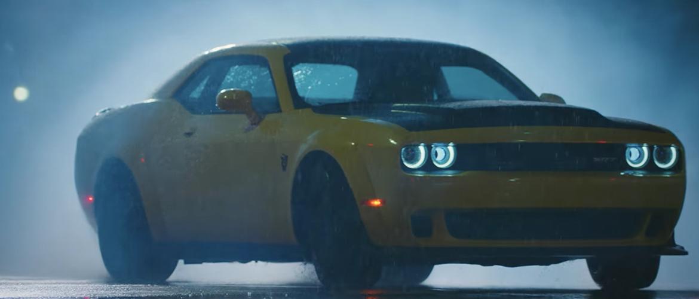 Yellow SRT Dodge Demon
