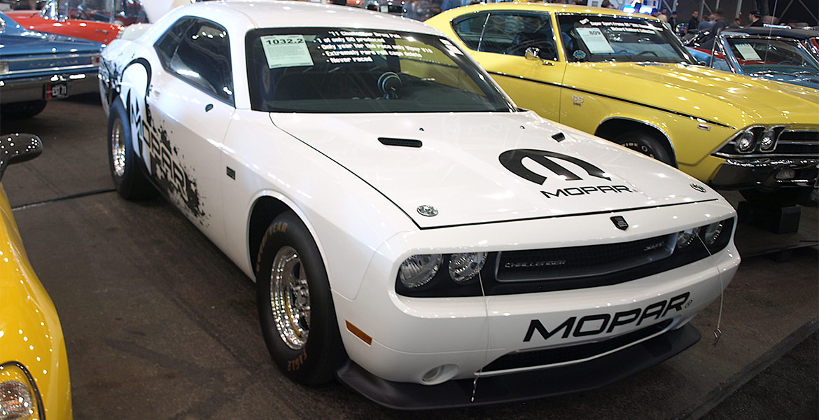 2011 Dodge Challenger Dragpak