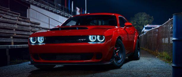 Red Dodge SRT Demon