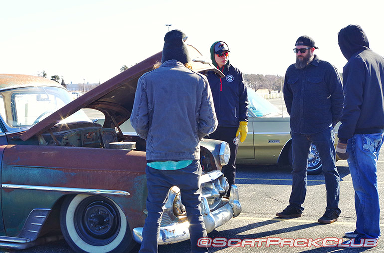 Braving the Minnesota Cold for Cars & Coffee Season Opener