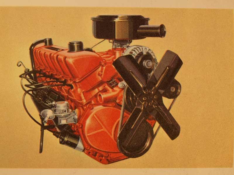 225-cubic-inch Slant Six engines