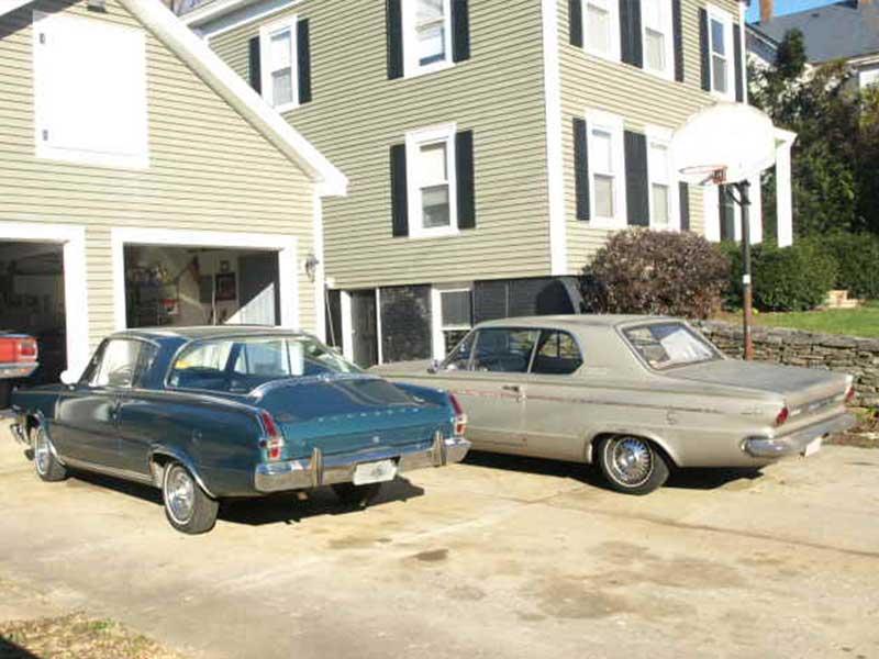 1964 Plymouth Barracuda and1966 Barracuda