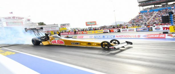 NHRA Vegas 4-Wide Nationals Doubles Excitement for Drivers and Fans