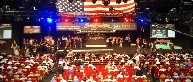 stage at Barrett-Jackson West Palm Beach
