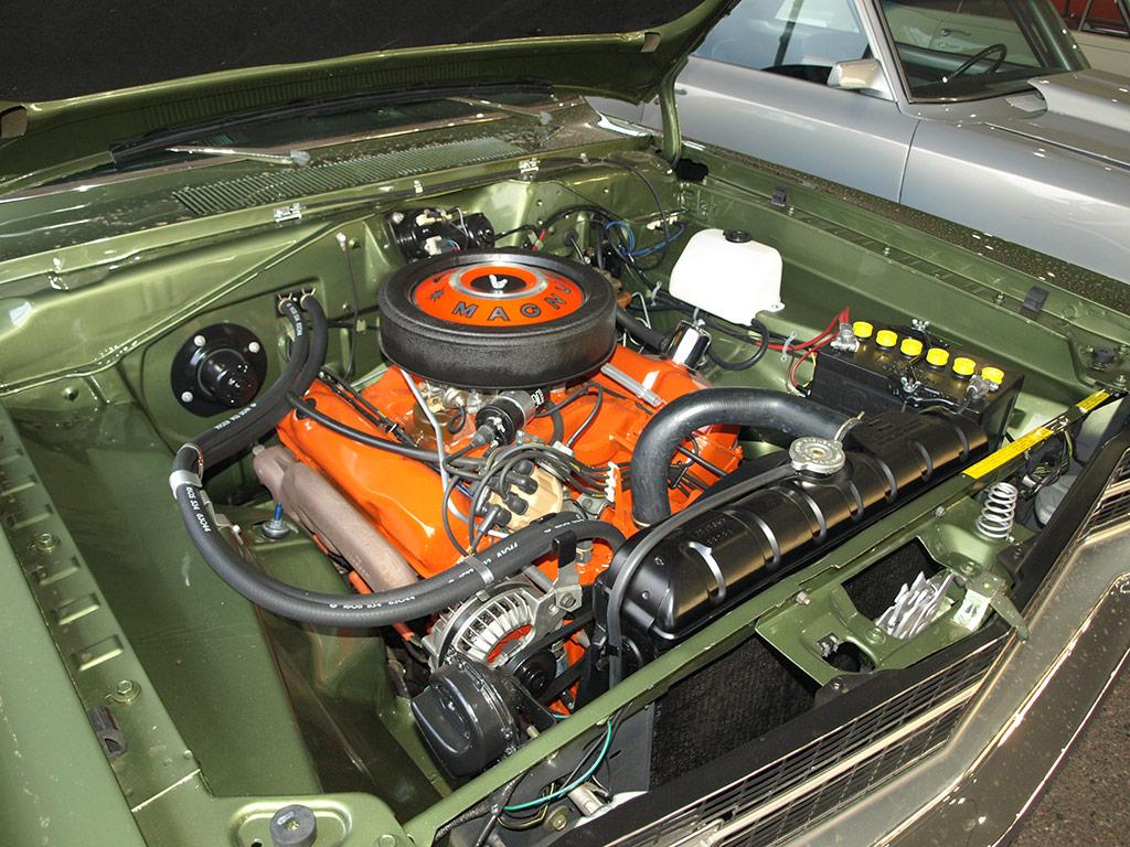 440 Hemi Engine from 1969