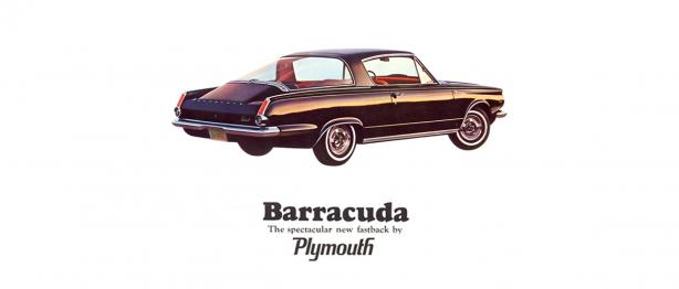 Plymouth Barracuda ad