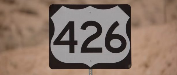 426 road sign