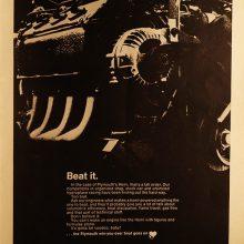 Plymouth Hemi full-page magazine ad