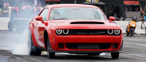 Dodge Demon at NMCA ALLSTART