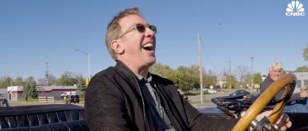 Tim Allen laughing