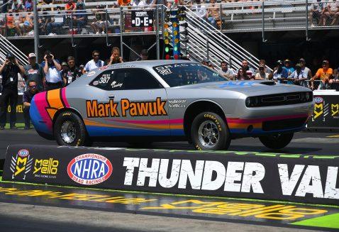 Mark Pawuk's racecar