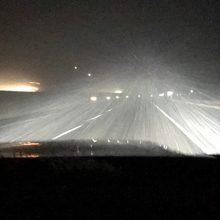 Blizzard in Wyoming