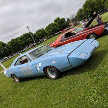 two older sportscars