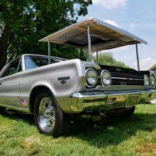 1967 Belvedere GTX Silver Bullet