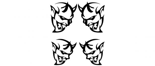 dodge demon decals
