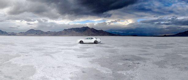 Dodge SRT Hellcat Widebody at the Bonneville Salt Flats