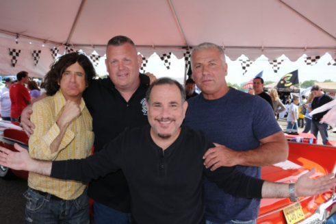 Joe Caldwell and friends