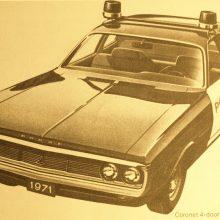 1971 Dodge Coronet Police