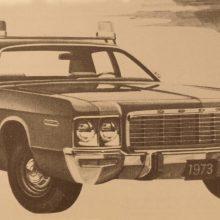 1973 Dodge Polara Pursuit