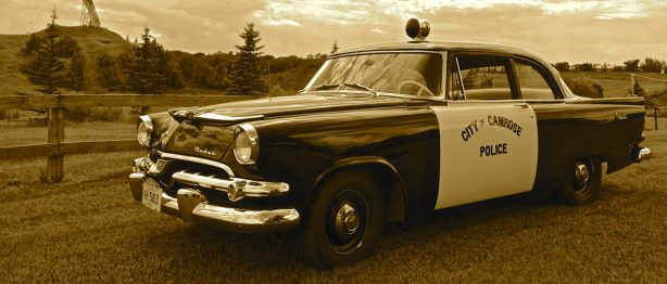 Camrose city police vehicle