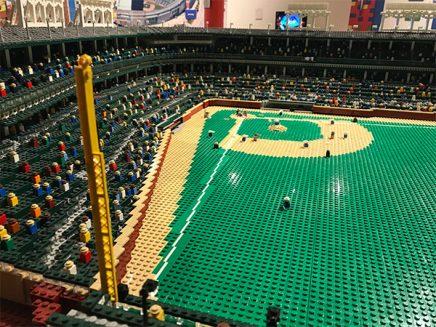 Lego baseball field