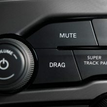 The SRT-tuned three-mode Adaptive Damping Suspension is electronically retuned for the 2019 Dodge Challenger R/T Scat Pack 1320 and includes an exclusive Drag Mode to optimize weight transfer to the rear for best launch traction. Drag Mode can be engaged through a new button in the center stack.