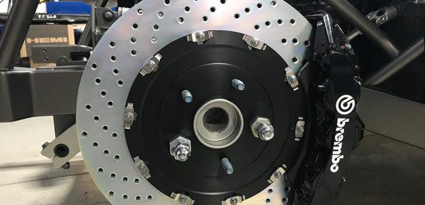 Outboard face of a car wheel