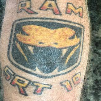 RAM SRT 10 tattoo