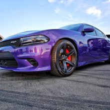 Purple Dodge SRT Scat Pack