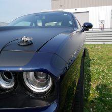 Black Dodge Challenger