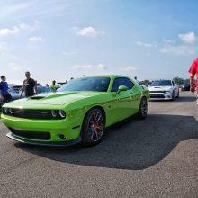 Green Dodge SRT Scat Pack